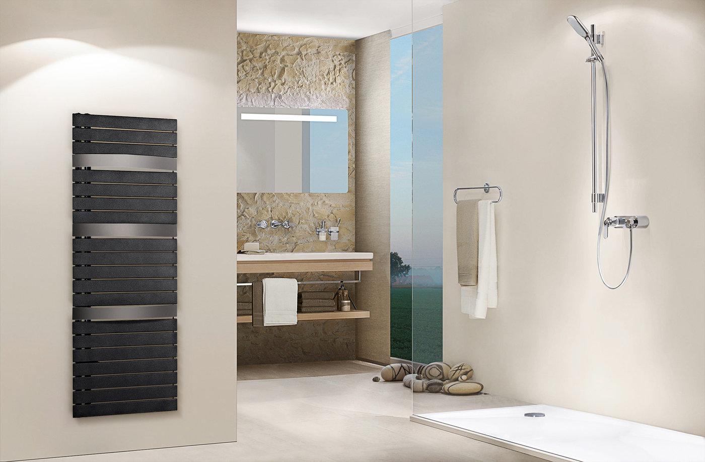 Grzejnik łazienkowy PURMO Evia 600x1657xD50mm prawy