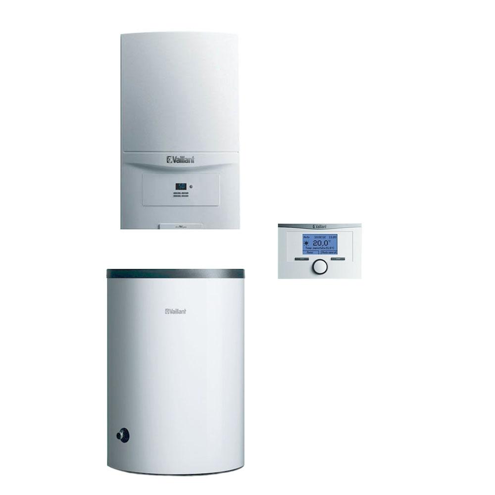 Pakiet Vaillant piec ecoTEC Pure 7,2-20,1kW z zasobnikiem 150L regulator pokojowy